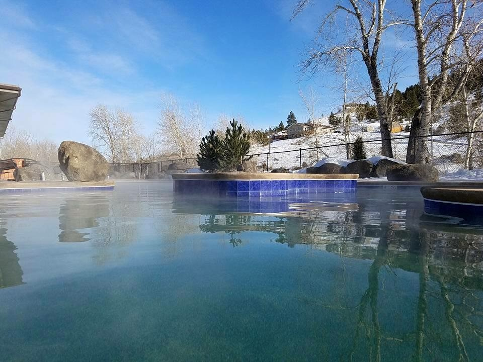Broadwater Hot Springs Pools