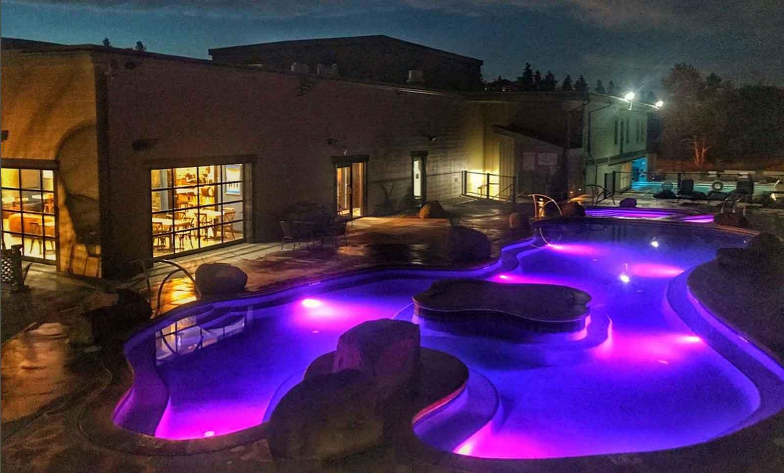 Broadwater Hot Springs Pools